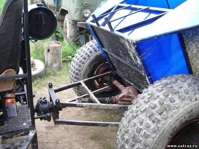 Как изготовить болотоход